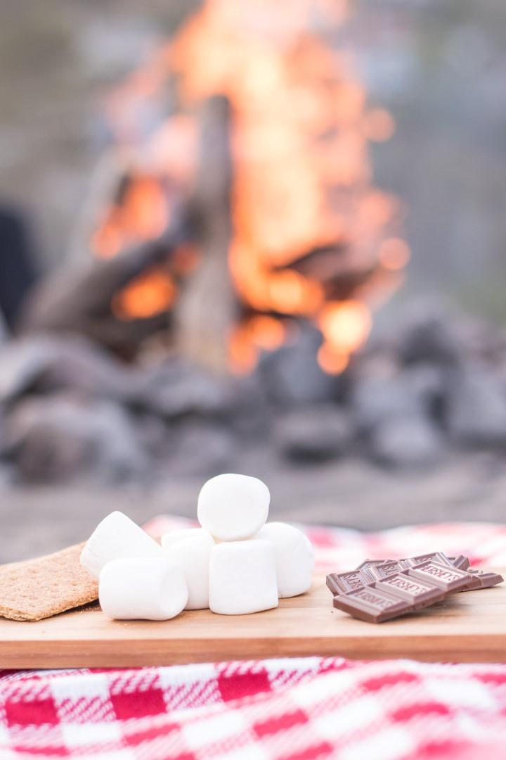 easy camping dessert